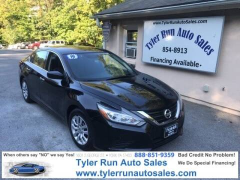 2016 Nissan Altima for sale at Tyler Run Auto Sales in York PA