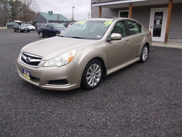 2010 Subaru Legacy for sale at Lakes Region Auto Source LLC in New Durham NH
