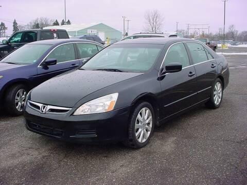 2007 Honda Accord for sale at VOA Auto Sales in Pontiac MI