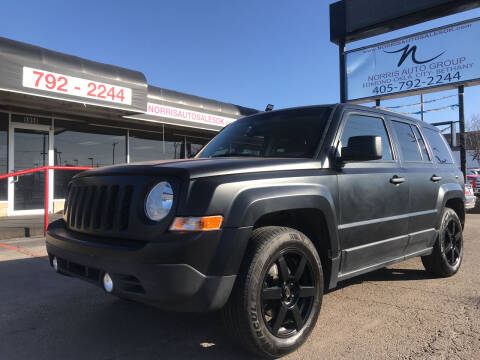 2016 Jeep Patriot for sale at NORRIS AUTO SALES in Oklahoma City OK