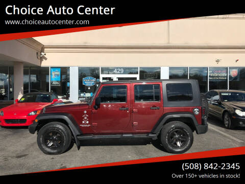 2007 Jeep Wrangler Unlimited for sale at Choice Auto Center in Shrewsbury MA