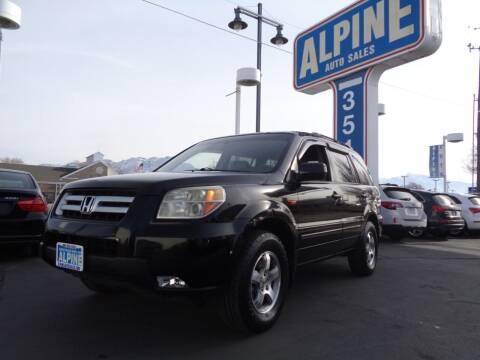 2007 Honda Pilot for sale at Alpine Auto Sales in Salt Lake City UT