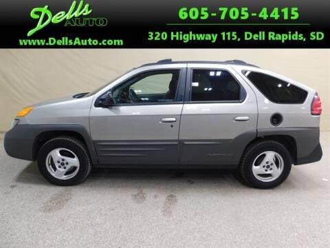 2001 Pontiac Aztek for sale at Dells Auto in Dell Rapids SD