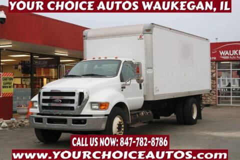 2015 Ford F-650 Super Duty for sale at Your Choice Autos - Waukegan in Waukegan IL