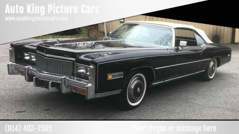 1976 Cadillac Eldorado for sale at Auto King Picture Cars - Rental in Westchester County NY