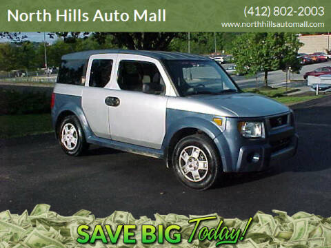 2006 Honda Element for sale at North Hills Auto Mall in Pittsburgh PA