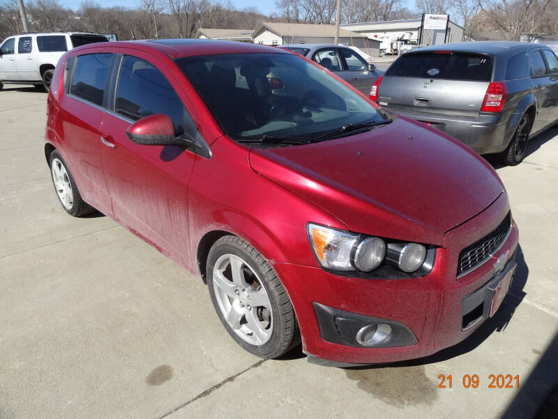 2012 Chevrolet Sonic for sale at John's Auto Sales in Council Bluffs IA