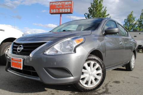 2018 Nissan Versa for sale at Frontier Auto & RV Sales in Anchorage AK