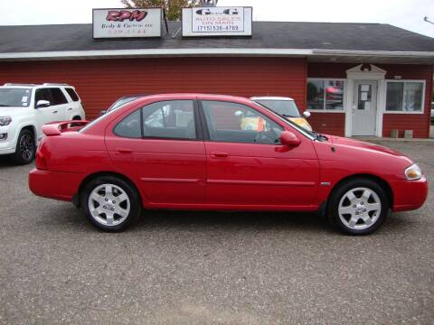2006 Nissan Sentra for sale at G and G AUTO SALES in Merrill WI