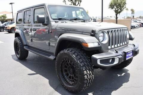 2020 Jeep Wrangler Unlimited for sale at DIAMOND VALLEY HONDA in Hemet CA