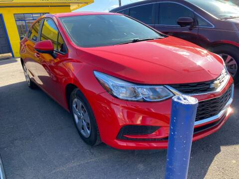 2018 Chevrolet Cruze for sale at New Wave Auto Brokers & Sales in Denver CO