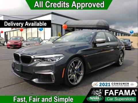 2018 BMW 5 Series for sale at FAFAMA AUTO SALES Inc in Milford MA