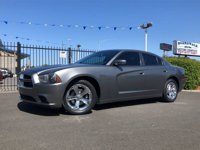 2011 Dodge Charger for sale at BOARDWALK MOTOR COMPANY in Fairfield CA