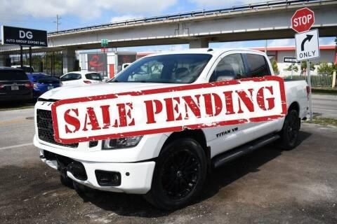 2019 Nissan Titan for sale at STS Automotive - Miami, FL in Miami FL