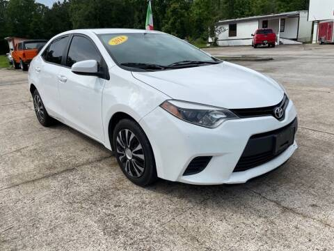 2014 Toyota Corolla for sale at AUTO WOODLANDS in Magnolia TX