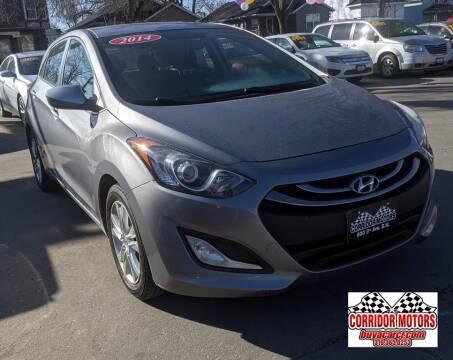 2014 Hyundai Elantra GT for sale at Corridor Motors in Cedar Rapids IA