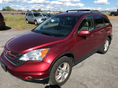 2010 Honda CR-V for sale at RJD Enterprize Auto Sales in Scotia NY