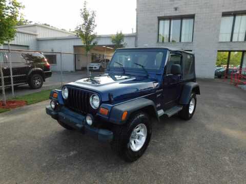 2002 Jeep Wrangler for sale at Paniagua Auto Mall in Dalton GA