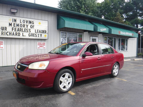 2006 Chevrolet Malibu for sale at GRESTY AUTO SALES in Loves Park IL