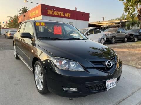 2008 Mazda MAZDA3 for sale at 3K Auto in Escondido CA