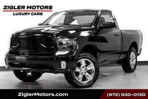 2014 RAM Ram Pickup 1500 for sale at Zigler Motors in Addison TX
