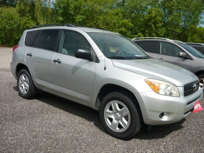 2007 Toyota RAV4 for sale at Shaw's Sales & Service in Wallingford VT