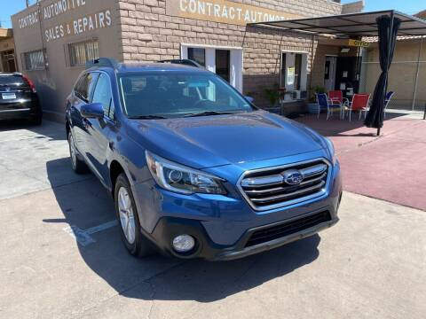 2019 Subaru Outback for sale at CONTRACT AUTOMOTIVE in Las Vegas NV