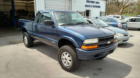 2001 Chevrolet S-10 for sale at DISCOUNT AUTO SALES in Johnson City TN