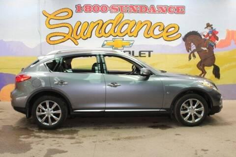 2017 Infiniti QX50 for sale at Sundance Chevrolet in Grand Ledge MI