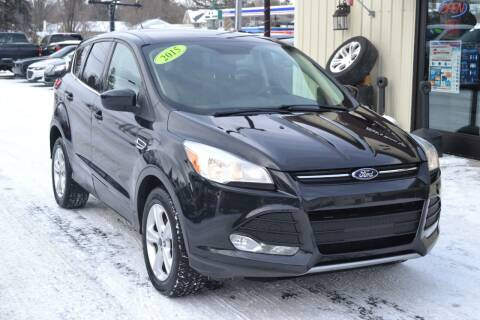 2015 Ford Escape for sale at Nick's Motor Sales LLC in Kalkaska MI