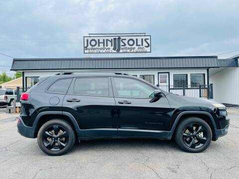 2018 Jeep Cherokee for sale at John Solis Automotive Village in Idaho Falls ID
