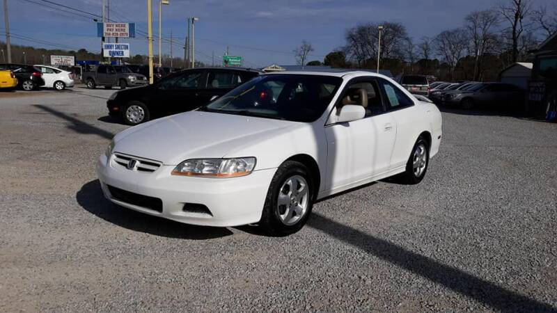 2001 Honda Accord for sale at Space & Rocket Auto Sales in Hazel Green AL