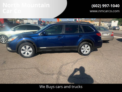 2010 Subaru Outback for sale at North Mountain Car Co in Phoenix AZ