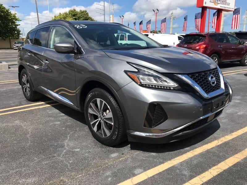2020 Nissan Murano for sale at LKG Auto Sales Inc in Miami FL