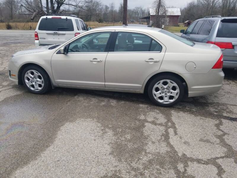 2011 Ford Fusion for sale at David Shiveley in Mount Orab OH