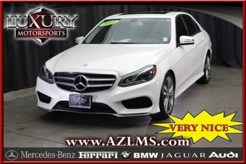 2014 Mercedes-Benz E-Class for sale at Luxury Motorsports in Phoenix AZ