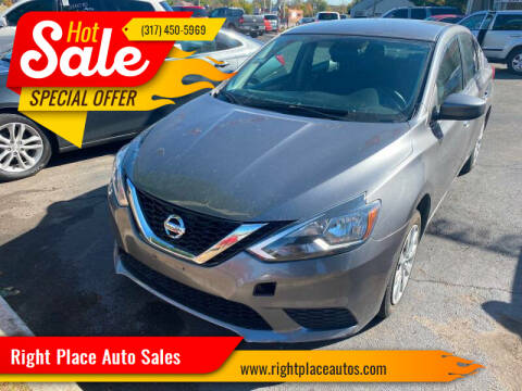 2016 Nissan Sentra for sale at Right Place Auto Sales in Indianapolis IN
