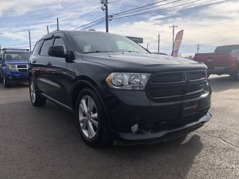 2011 Dodge Durango for sale at Instant Auto Sales in Chillicothe OH