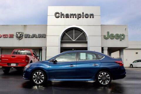2019 Nissan Sentra for sale at Champion Chevrolet in Athens AL