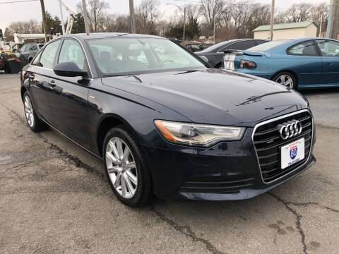 2014 Audi A6 for sale at I-80 Auto Sales in Hazel Crest IL