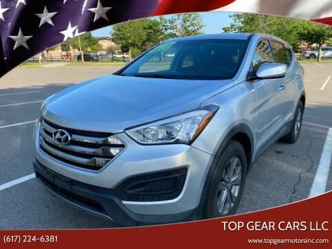 2016 Hyundai Santa Fe Sport for sale at Top Gear Cars LLC in Lynn MA
