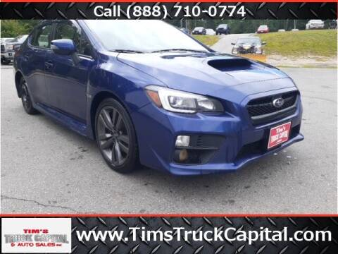 2017 Subaru WRX for sale at TTC AUTO OUTLET/TIM'S TRUCK CAPITAL & AUTO SALES INC ANNEX in Epsom NH