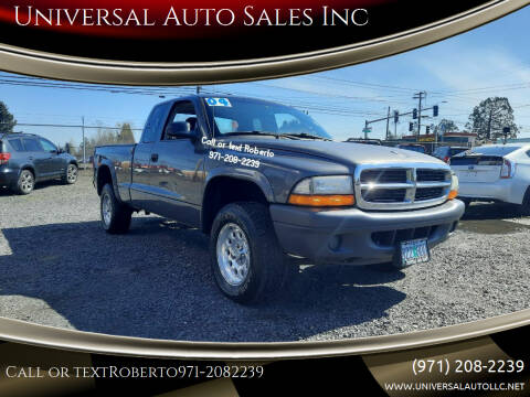 2004 Dodge Dakota for sale at Universal Auto Sales Inc in Salem OR
