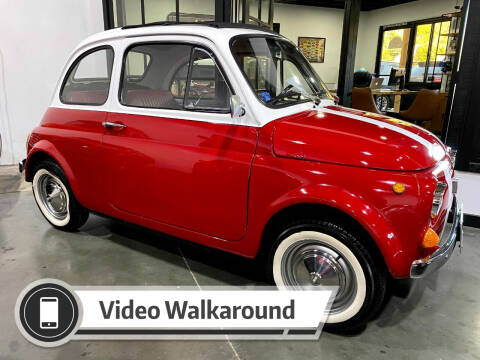 1968 FIAT 500L for sale at Dan Reed Autos in Escondido CA