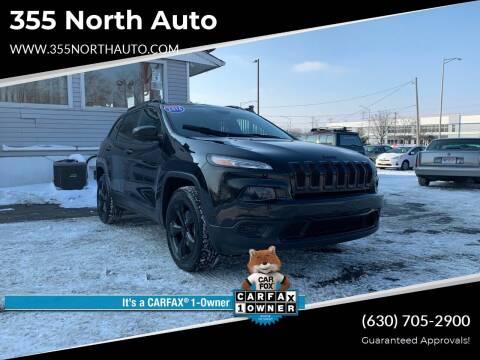 2016 Jeep Cherokee for sale at 355 North Auto in Lombard IL