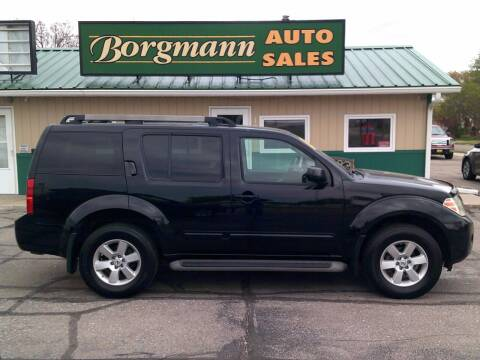 2011 Nissan Pathfinder for sale at Borgmann Auto Sales in Norfolk NE
