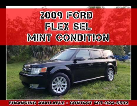 2009 Ford Flex for sale at AFFORDABLE ONE LLC in Orlando FL
