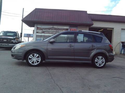 2006 Pontiac Vibe for sale at Settle Auto Sales TAYLOR ST. in Fort Wayne IN