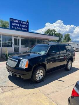 2007 GMC Yukon for sale at Right Away Auto Sales in Colorado Springs CO