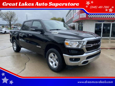 2019 RAM Ram Pickup 1500 for sale at Great Lakes Auto Superstore in Pontiac MI